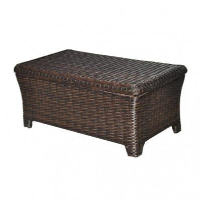 Tisdale Wicker Storage Coffee Table All About Wicker