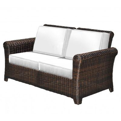 Tisdale Deep Seating Wicker Loveseat