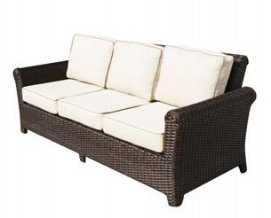 Tisdale Deep Seating Outdoor Wicker Sofa