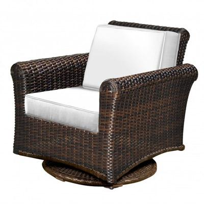 Tisdale Deep Seating Wicker Swivel Glider