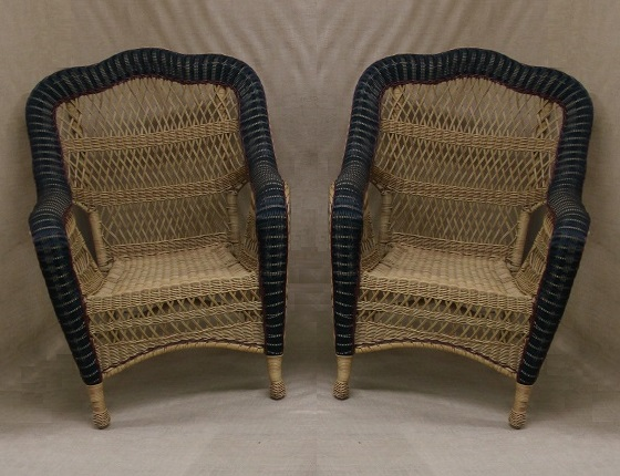 Nantucket All Weather Wicker Chairs - Set of 2
