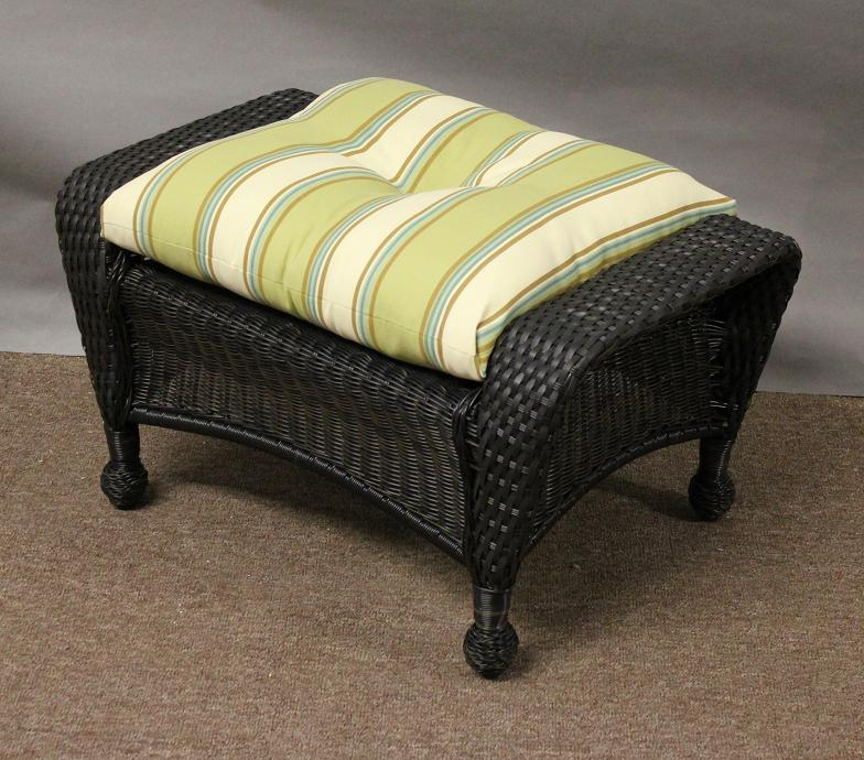 Image Result For Outdoor Wicker Footstool