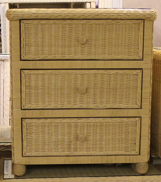 hampton bay wicker dresser 3 drawer chest all about wicker. Black Bedroom Furniture Sets. Home Design Ideas