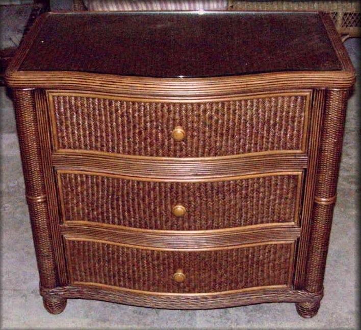 item and tropical rattan bamboo dresser teak wood htm