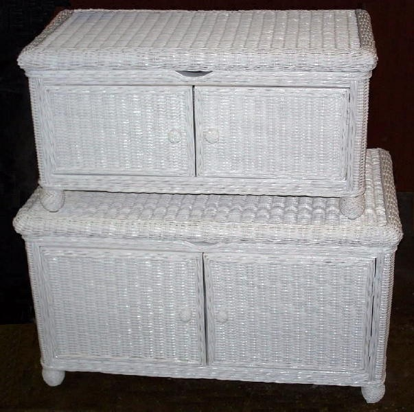 Natural Wicker Storage Trunku003cbru003eu003csmallu003eWhite, Honey, Whitewash, Dark  Stainu003c/smallu003e | All About Wicker