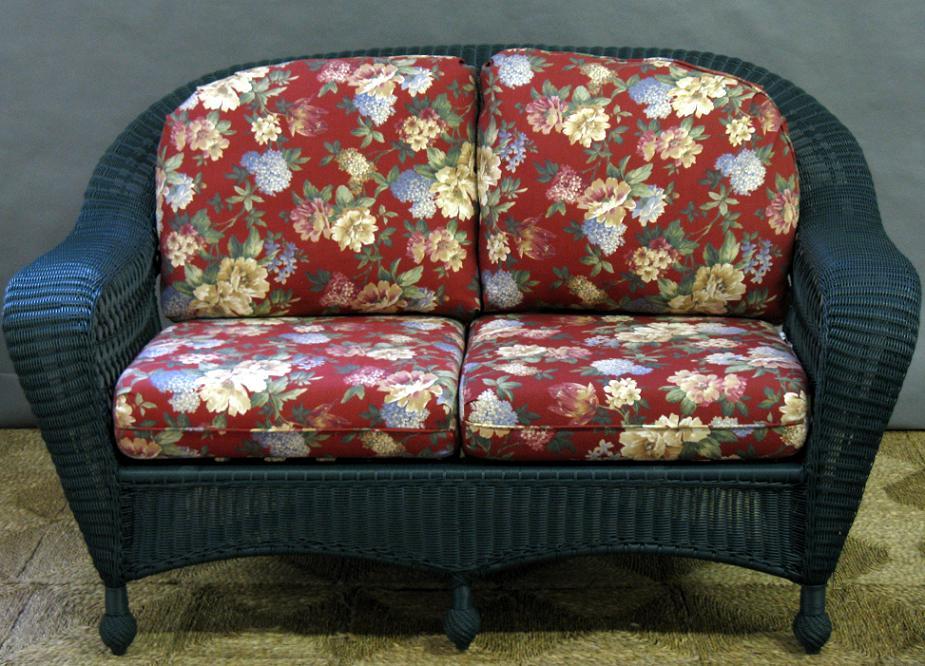 engle small amazon dp couch settee caribbean portfolio armless loveseat linen sofa com blue