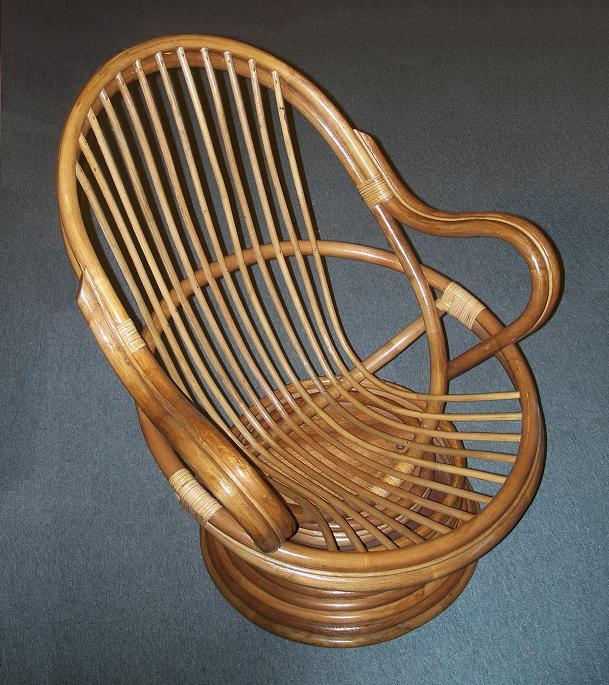 Aruba Rattan Deluxe Swivel Rocker All About Wicker