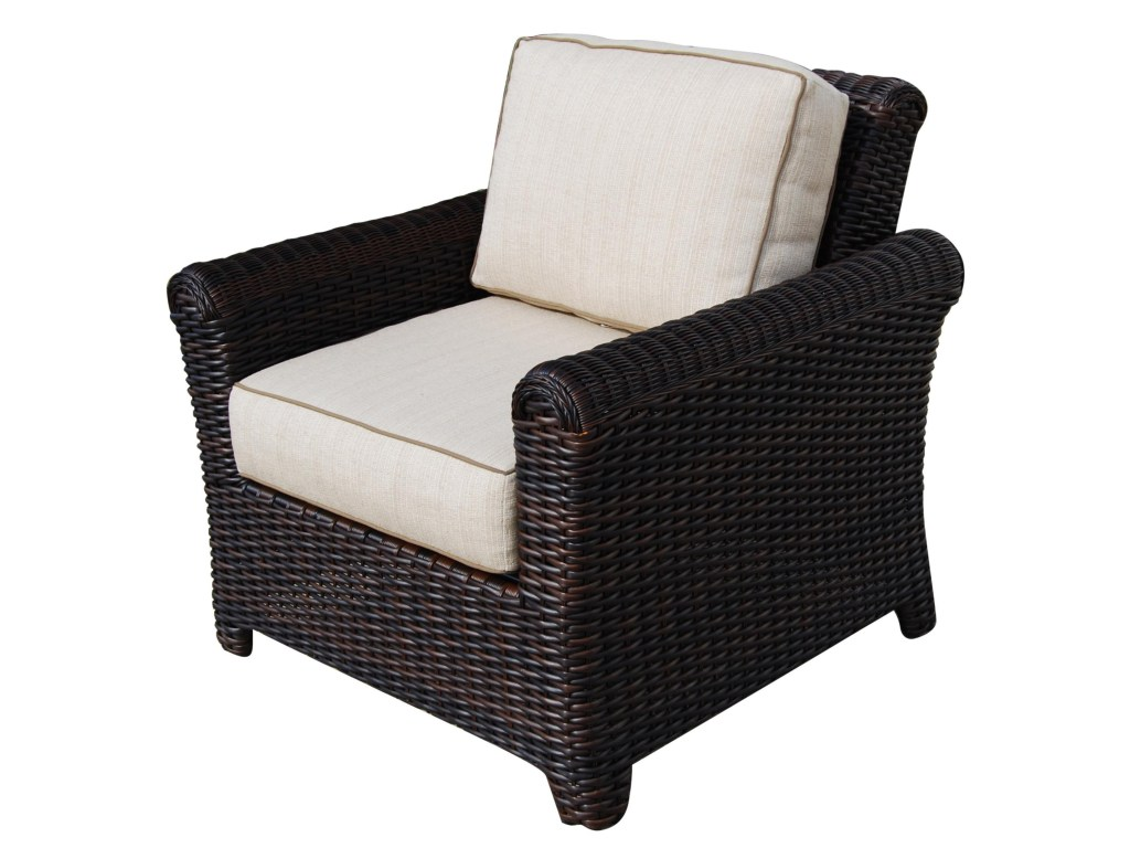 Tisdale Deep Seating Wicker Chair All About Wicker
